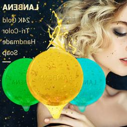 LANBENA Handmade Soap Face Washing Facial Cleansing Moisturi