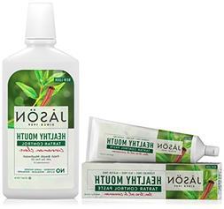Jason Healthy Mouth Toothpaste, Tea Tree Oil & Cinnamon with