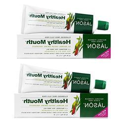 Jason Healthy Mouth Toothpaste with Tea Tree Oil & Cinnamon