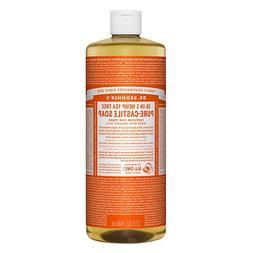 Dr. Bronner's 18-IN-1 Hemp Pure-Castile Soap, Tea Tree 32 fl