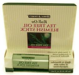 Herbal Authority Roll-on Tea Tree Oil Blemish Stick 0.3oz