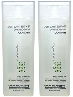 Giovanni Invigorating Shampoo Organic Tea Tree Triple Threat