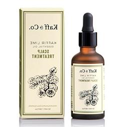 Kaffir Lime Essential Oil Leave On Scalp Treatment with Ging