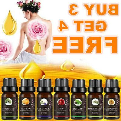 10ml aromatherapy essential oils natural pure organic
