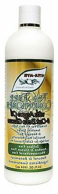 14 Oz VITA-MYR Tea Tree Natural Hair Conditioner Natural Bot