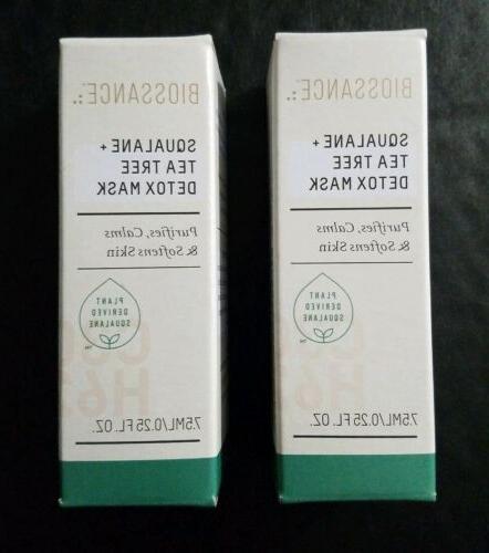 2 squalane tea tree detox mask 25oz