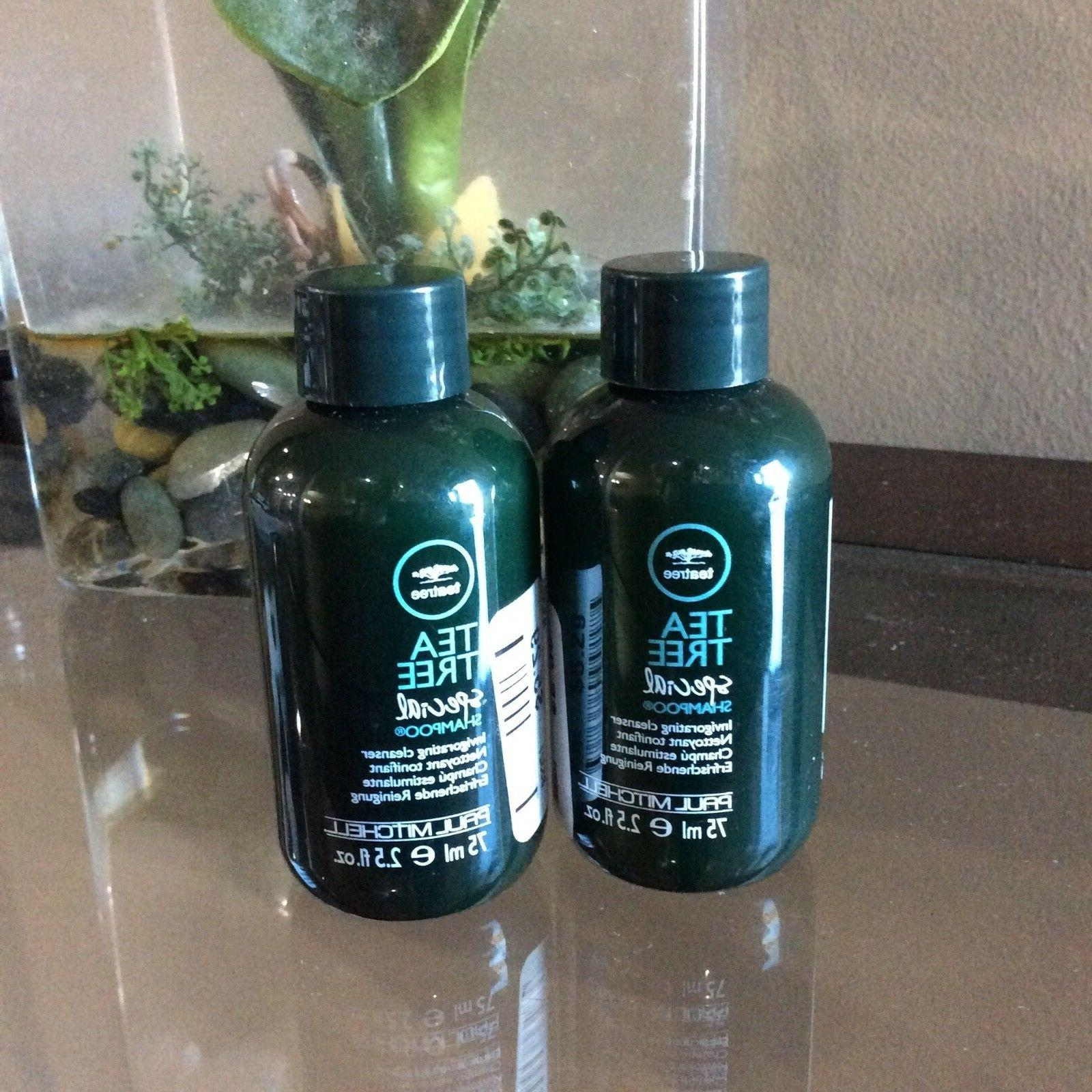 2 PAUL TREE SPECIAL SHAMPOO OZ TRAVEL
