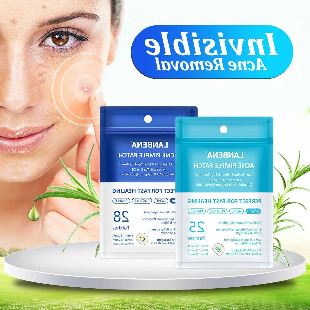 28PCS Perfect Tea Tree Skn Pimple Patch Invisible Treatment