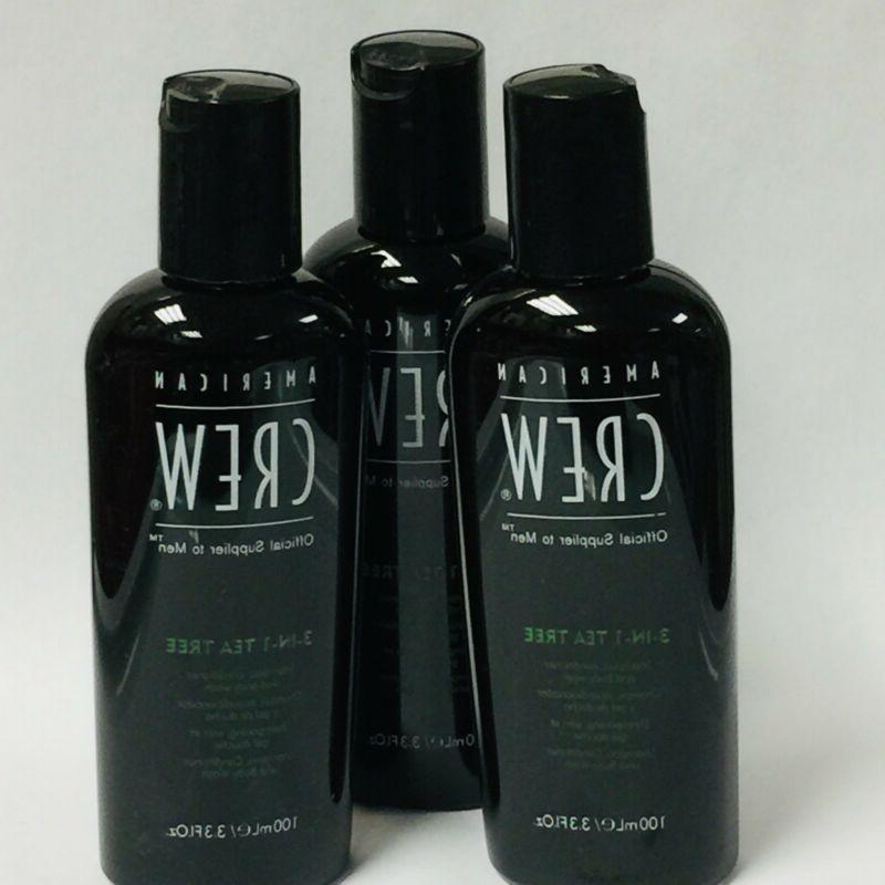 3 3 in 1 tea tree shampoo