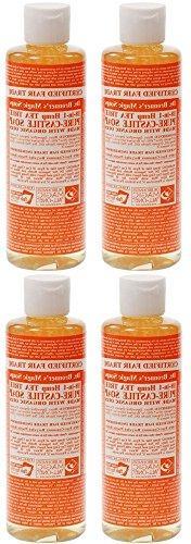 - Dr Bronner - Tea Tree Castile Liquid Soap | 236ml | 4 PAC