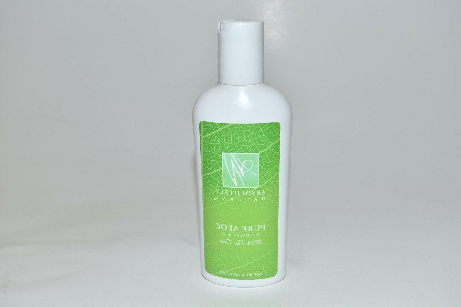 Absolutely Natural Pure Aloe Recovery Gel - With Tea Tree Oi