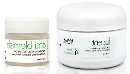 Acne Scar Cream And Acne Spot Treatment Set