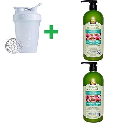 Avalon Organics, Conditioner, Scalp Treatment, Tea Tree, 32