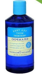 Avalon Organics Shampoo, Tea Tree Mint Treatment 14 fl oz