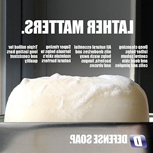 Defense Soap Bar - 100 Natural Pharmaceutical Oil