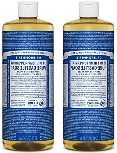 Dr. Bronner's Pure-Castile Soap - Peppermint, 32 oz