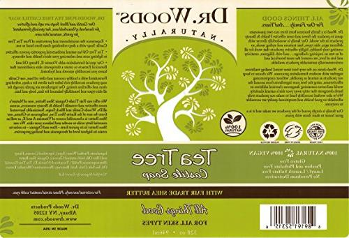 Dr. Woods Pure Tree Liquid with Organic Shea
