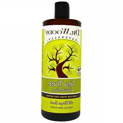 Dr. Woods Shea Vision Pure Castile Soap Tea Tree - 32 fl oz