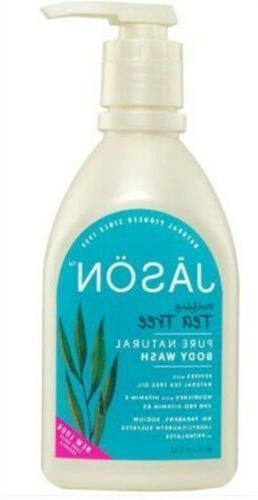 JASON Natural Products - Body Wash Purifying Tea Tree - 30 o