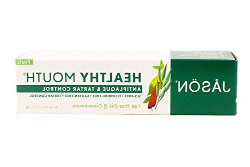 Jason Natural, Healthy Mouth, Antiplaque & Tartar Control To