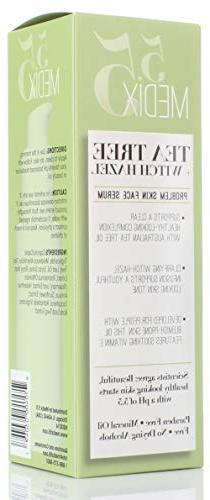 Oil for E. dry skin, redness, blemishes, clogged pores. bottle with pump Oz