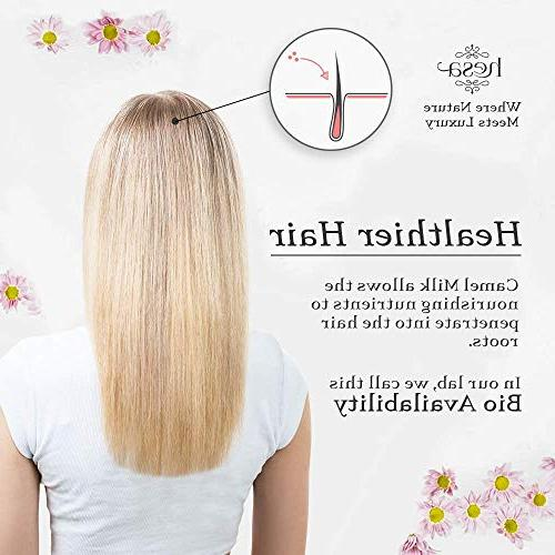 Natural Milk Damaged and Dry Hair Loss, Dandruff, & Sulfate Free Anti-Frizz /