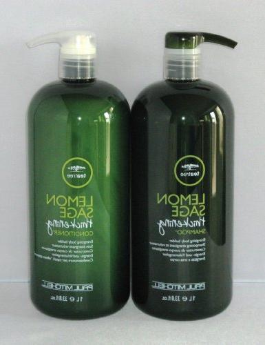 P. Mitchell Tea Tree Lemon Sage Conditioner 33.8 Oz Tea Tree