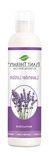 Plant Therapy Lavender Lotion 8 oz Aromatherapy Natural, Mad