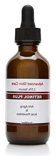 Retinol Cream 2 5% with Vitamin C Serum 20%