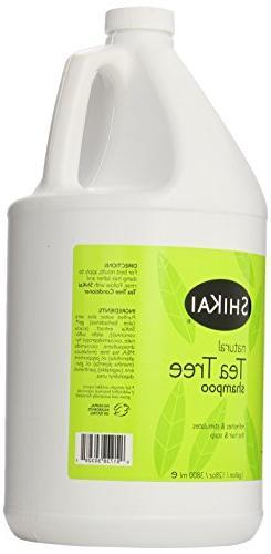 ShiKai - Natural Tree Oil Shampoo, With Peppermint To Refresh & Hair & Scalp, Alternative