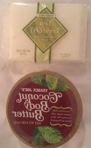 Trader Joe Bundle - Coconut Body Butter and Tea Tree Oil Veg