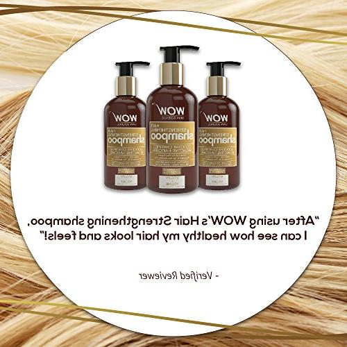 WOW for Growth Hair Treatment for Damaged Tea Tree Moroccan Argan oil and Oz