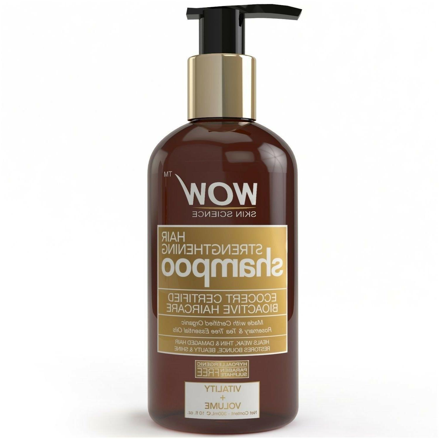 WOW Hair Strengthening Shampoo for Hair Growth and Hair Repa