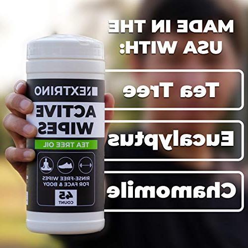 Nextrino Active Body & Tea Tree Oil ct *NEW*
