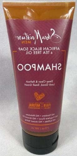 Shea Moisture African Black Soap and Tea Tree Oil Shampoo fo