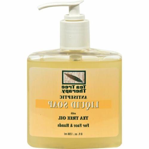 antibacterial liquid soap with tea tree oil