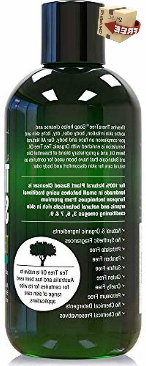 Antifungal Body Soap Oleavine Organic Cleaner 12 Oz