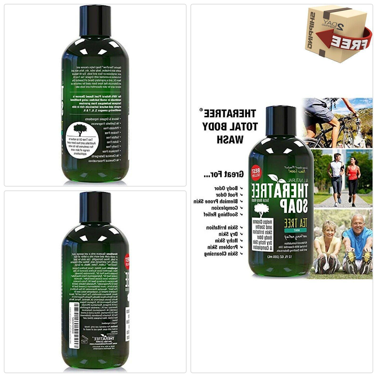 antifungal body soap wash tea tree neem