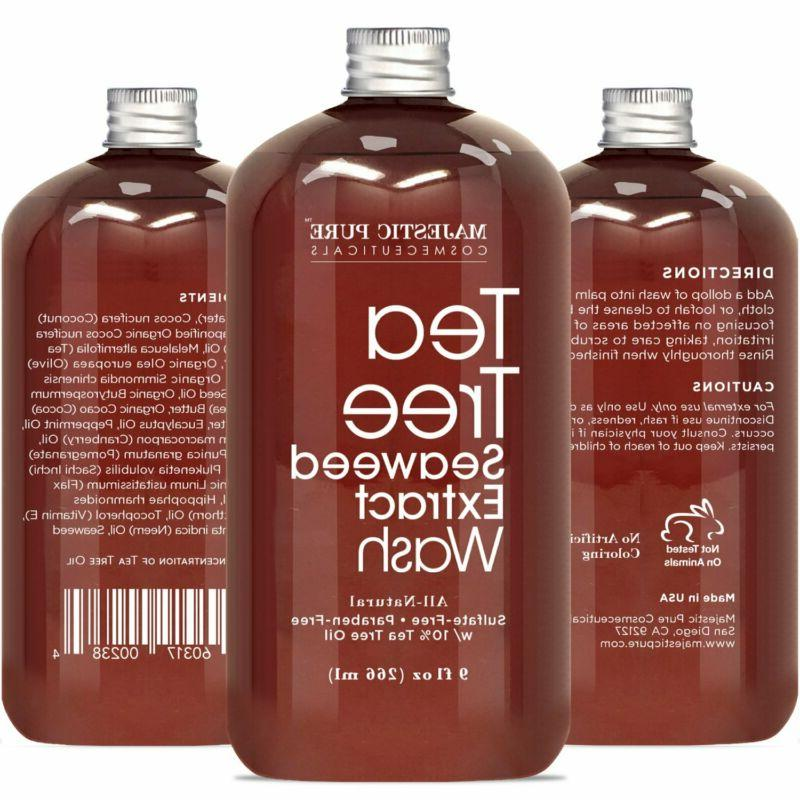 Antifungal Tea Tree Body Wash, For Men