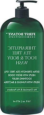 Antifungal Tea Tree Oil Body Wash - HUGE 16 OZ - 100% Pure &
