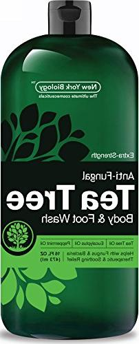 Antifungal Tea Tree Body – Pure & Extra Strength Professional - Helps Soothe Fungus, Foot, Itch, Eczema