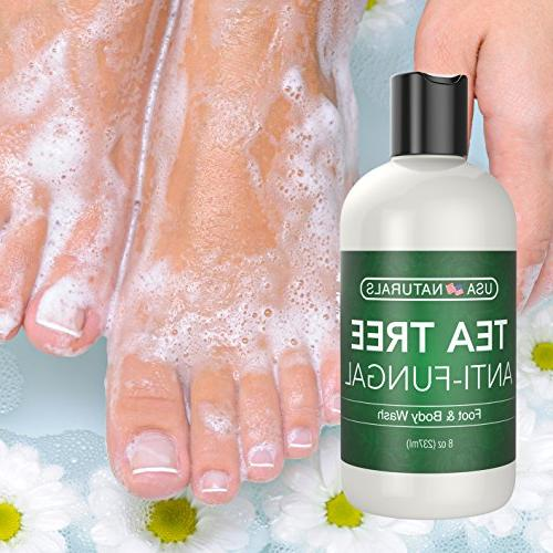 Antifungal Oil Body - Antibacterial Wash Helps Body Odor, Itch Soothes Anti-fungal