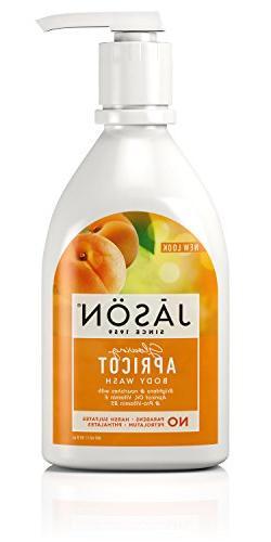 JASON Glowing Apricot Body Wash, 30 oz.