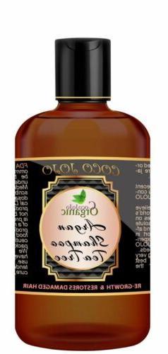 ARGAN TEA TREE HAIR GROWTH SHAMPOO - SULFATE FREE - FREE SHI