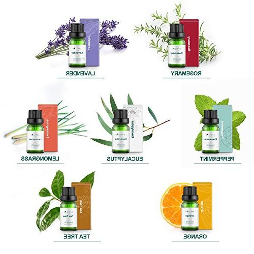 Aromatherapy Top 7 Oils Therapeutic-Grade, Gift Oil - Basic Sampler