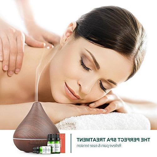 Aromatherapy Top Oils 100% Pure Therapeutic-Grade, Christmas Oil Set Basic Sampler Gift Set