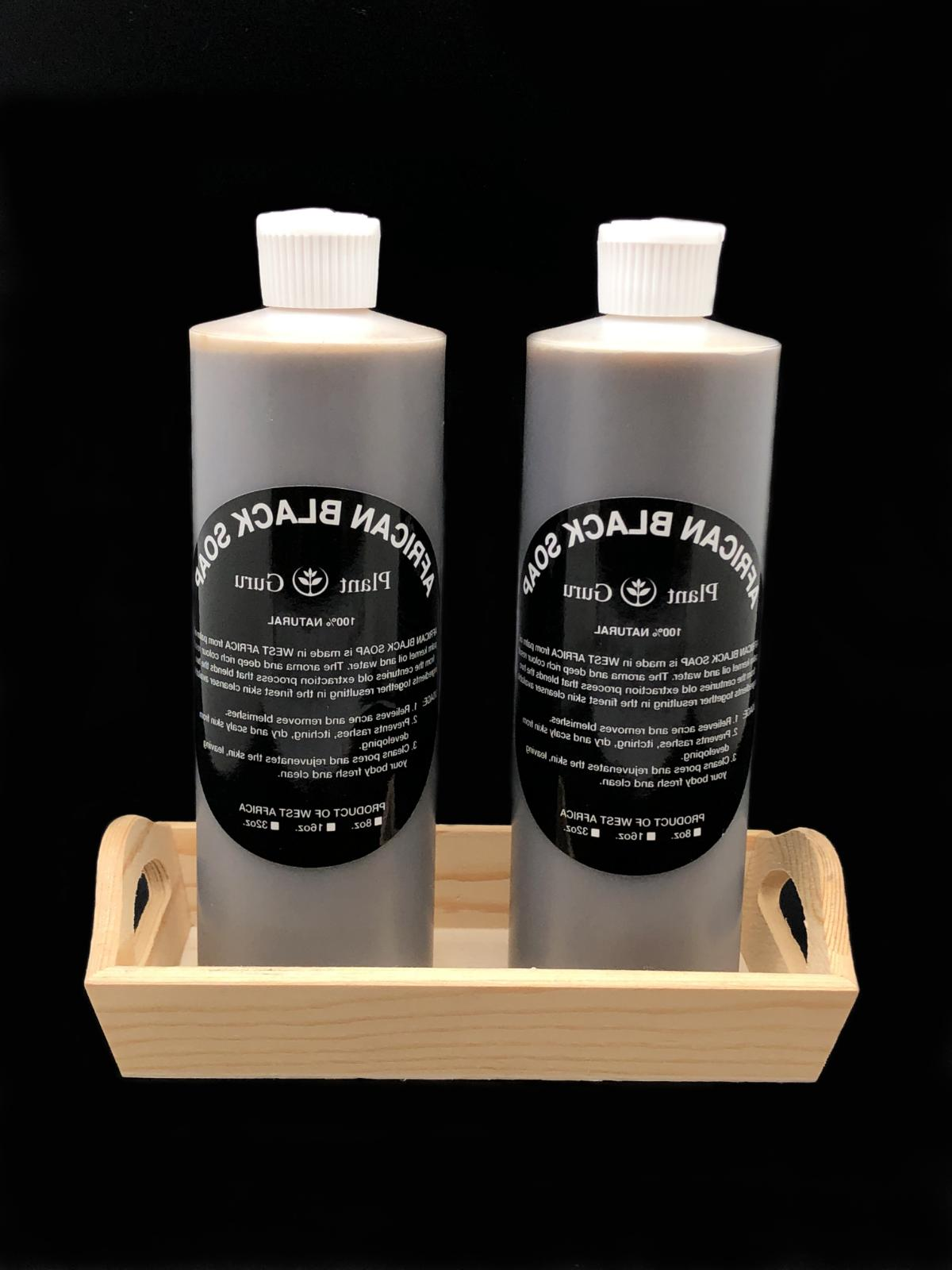 Aromatherapy African Black Soap Liquid Raw Organic With