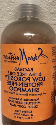 Shea Moisture Baobab & Tea Tree Oils Low Porosity Protein-fr