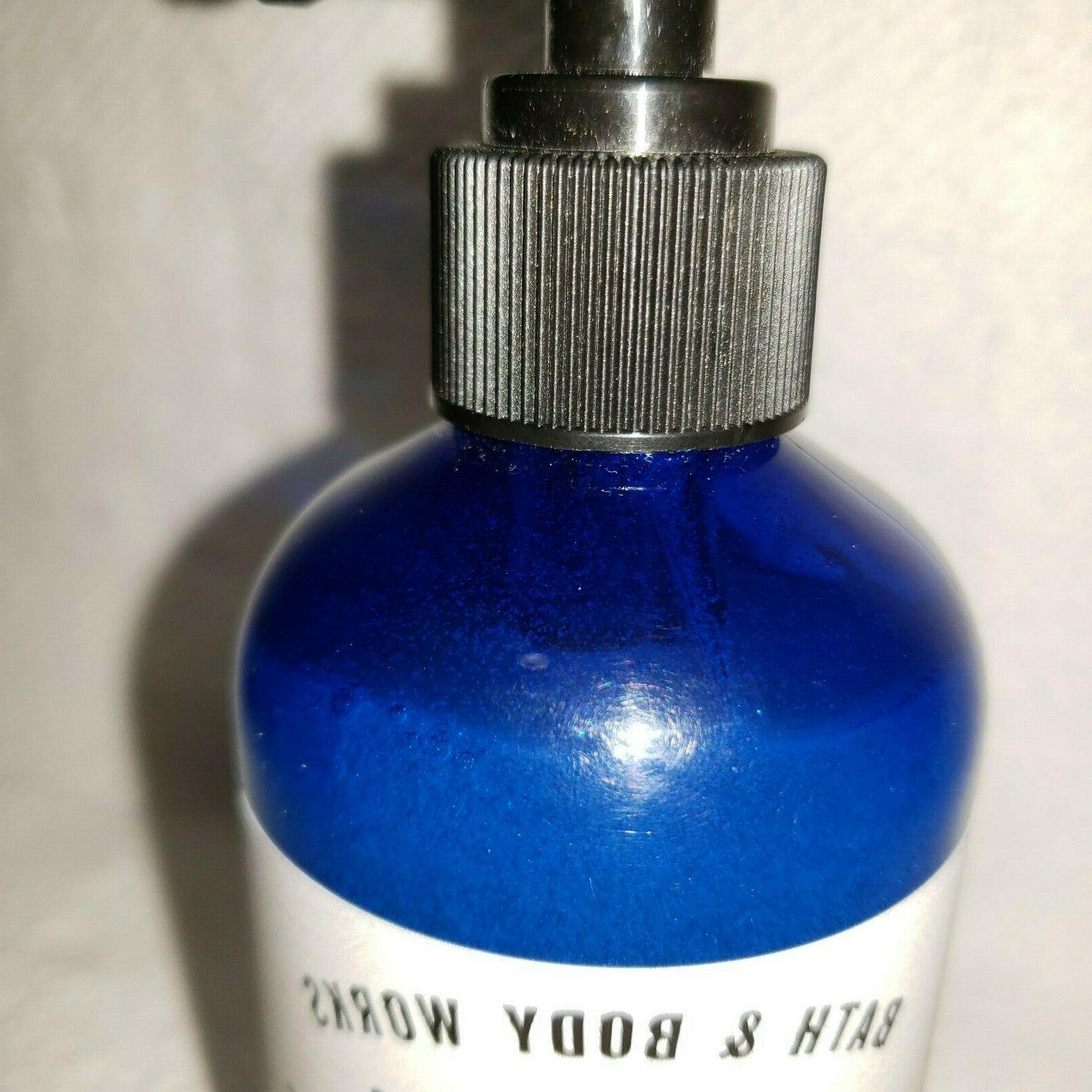 Bath & Body ICED BLUE SAGE With Tea Tree Oil Hand Retired