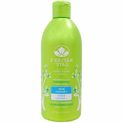 Natures Gate Biotin Hair Strengthening Conditioner - 18 oz